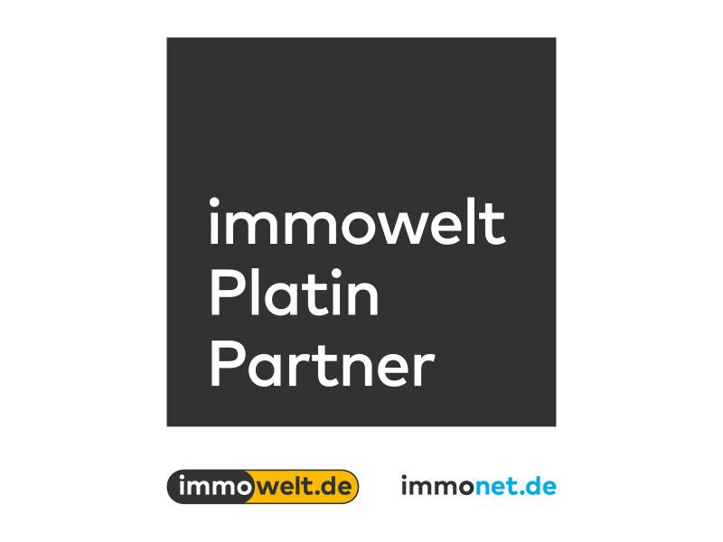 Auszeichnung immowelt Platin Partner