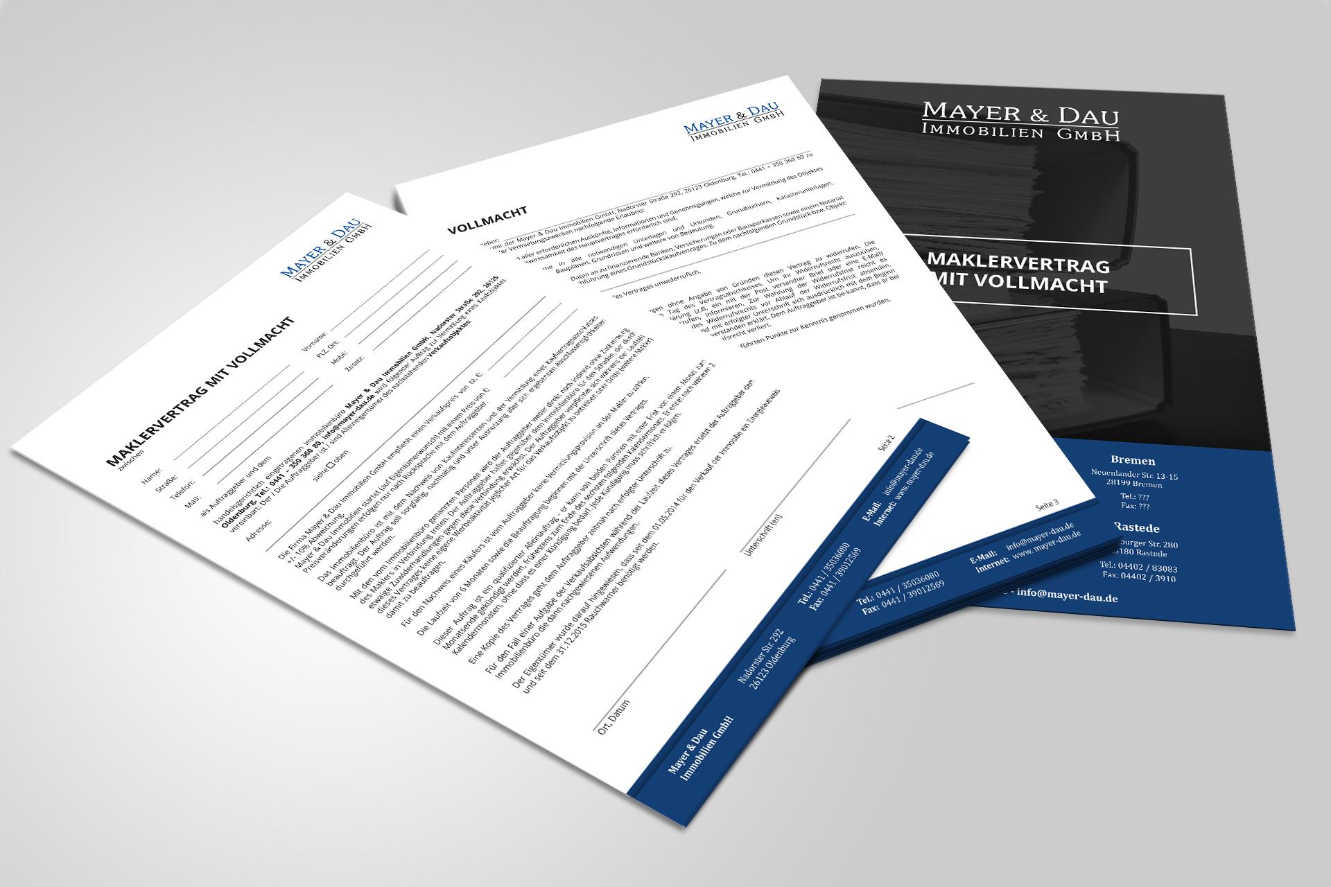 M&D_Maklervertrag