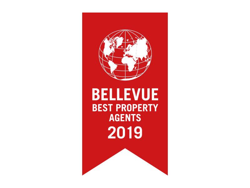 Auszeichnung Bellevue Best Property Agents 2018
