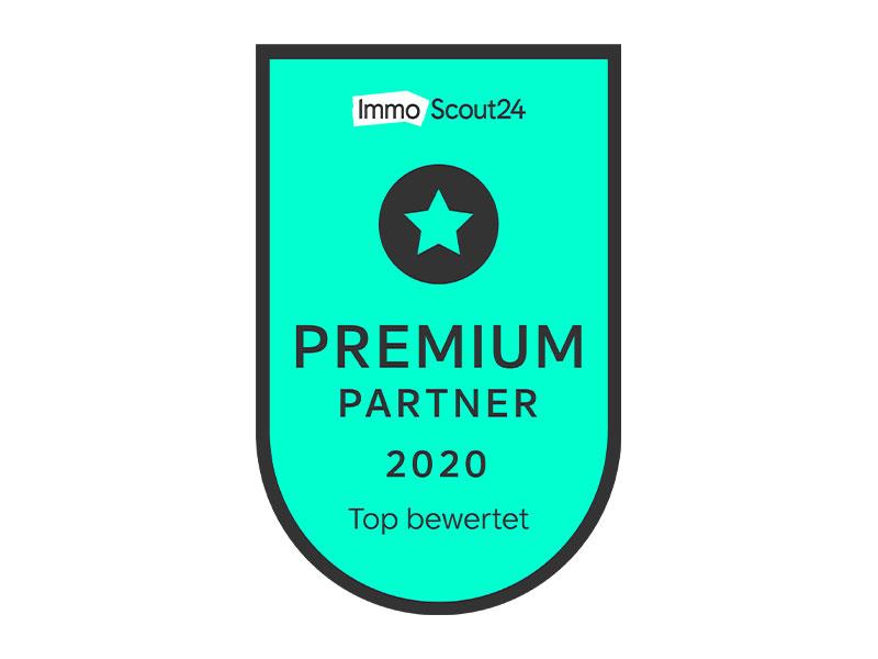 Auszeichnung ImmobilienScout24 Premium Partner 2020