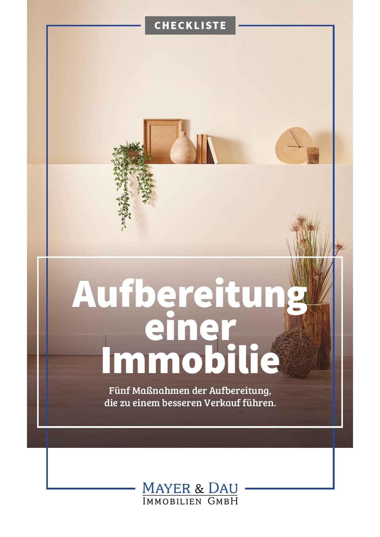 Mayer_und_Dau_Aufbereitung_der_Immobilie_Cover