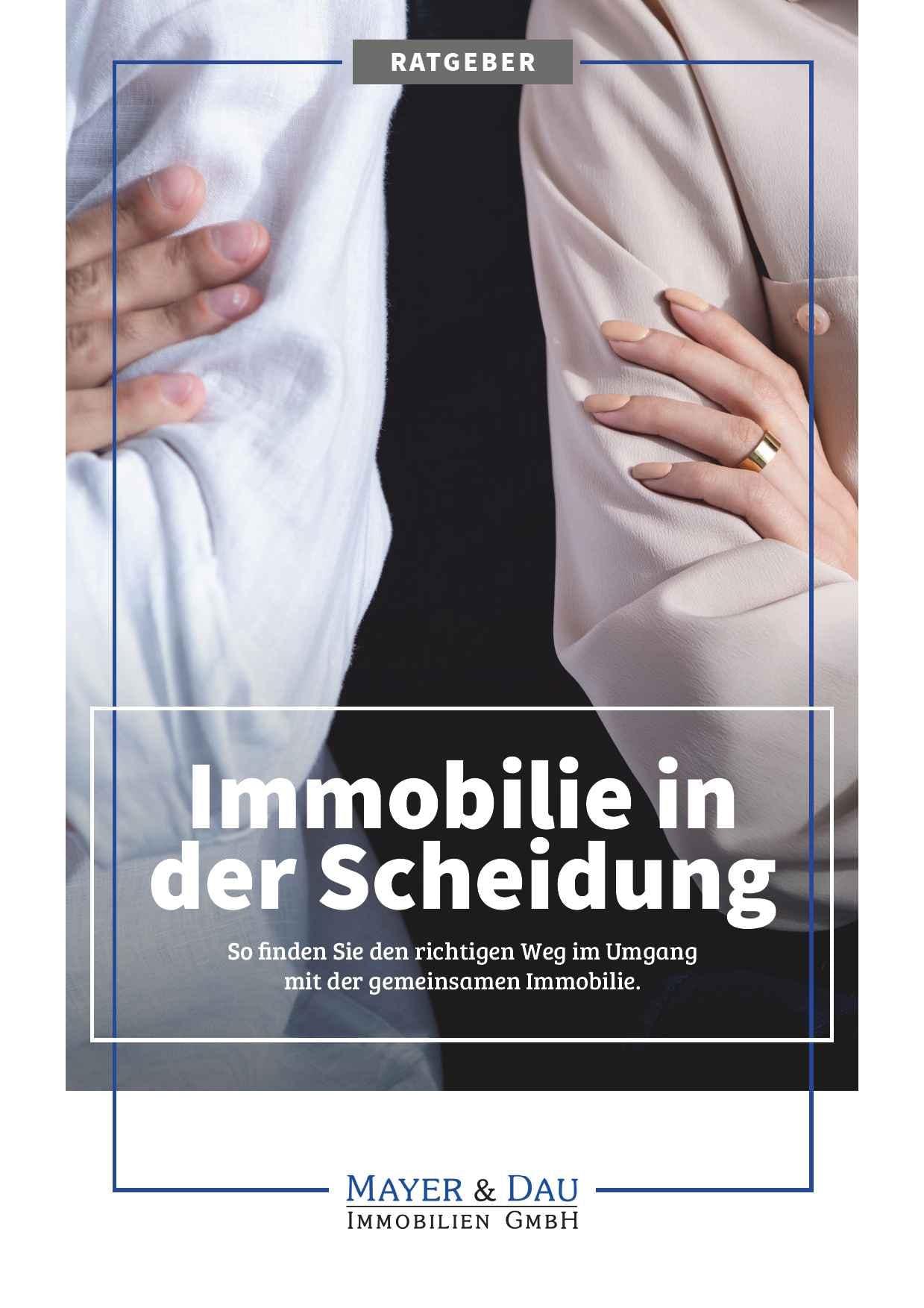 Mayer_und_Dau_Immobilie_in_der_Scheidung_Cover