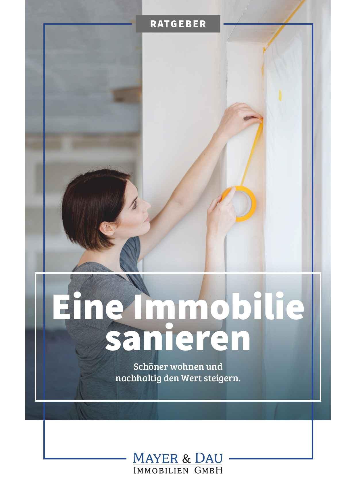 Mayer_und_Dau_Sanierung_einer_Immobilie_Cover